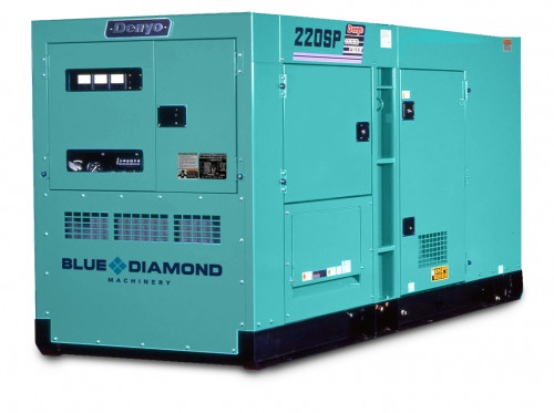 DENYO 220KVA Diesel Generator - DCA-220SPK3