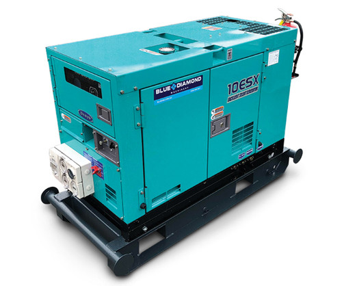 DENYO 10KVA Diesel Generator - 1 Phase - DCA-10ESX-DA