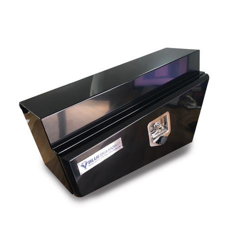 Underbody Steel Tapered Tool Box Black RHS