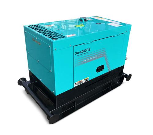 USED DENYO 6KVA Diesel Generator Single Phase - DCA-6000SS