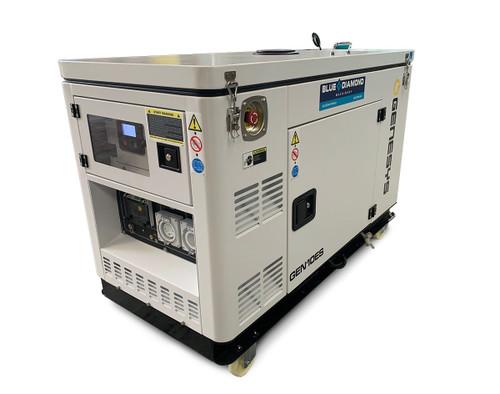 Portable Generator - 10 KVA Diesel – Compact
