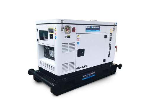 Portable Generator - 10 KVA Diesel – Compact Mine Spec | Blue Diamond