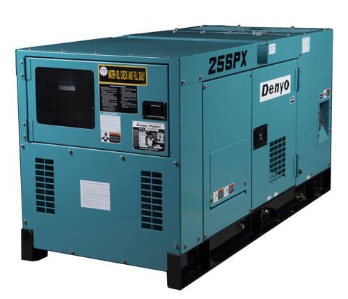 DENYO 25KVA Diesel Generator - 1 Phase - DCA-25SPX
