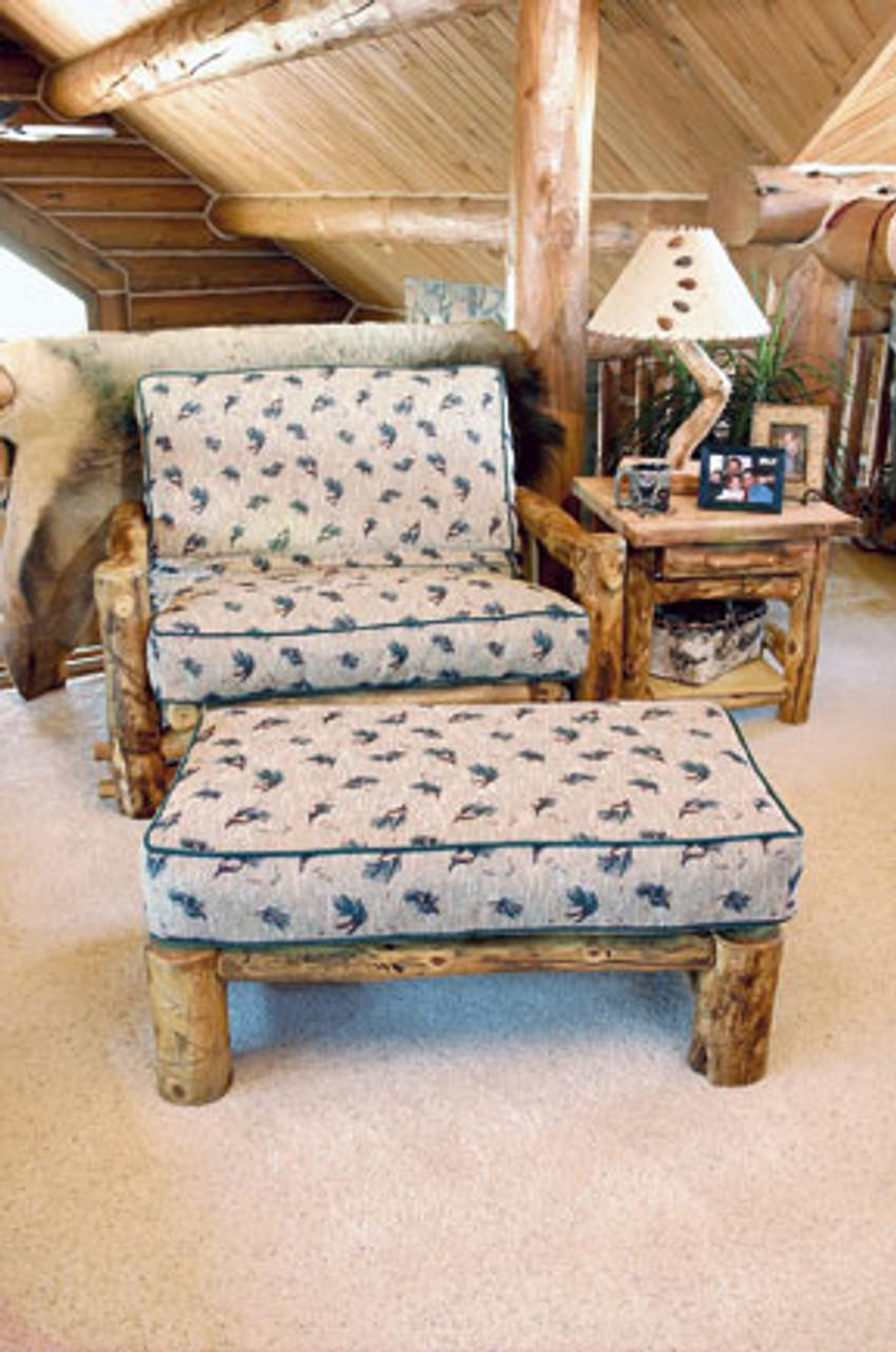 Groovy Log Futon Chair And Ottoman Twin Size Frankydiablos Diy Chair Ideas Frankydiabloscom