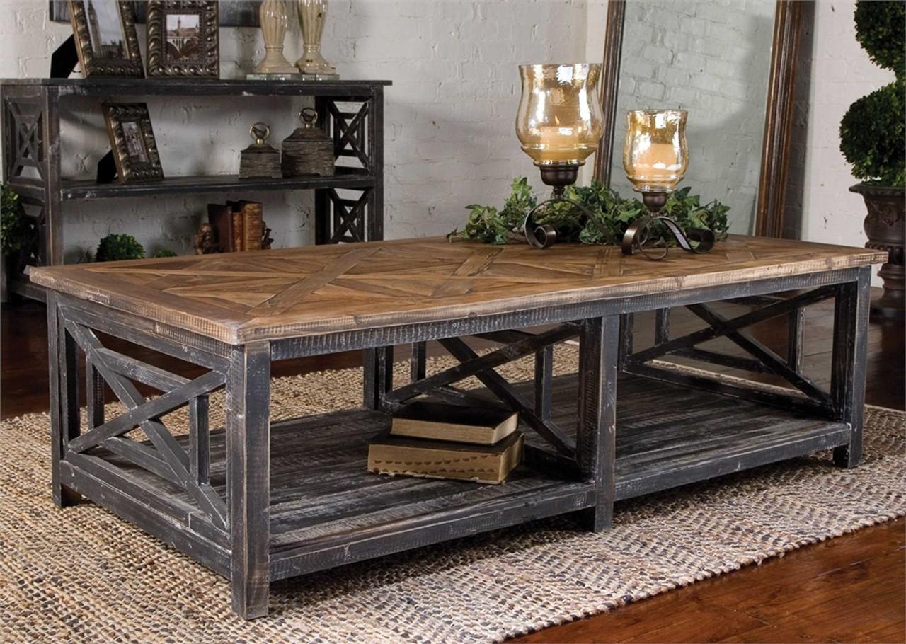 - Reclaimed Wood Coffee Table, Spiro