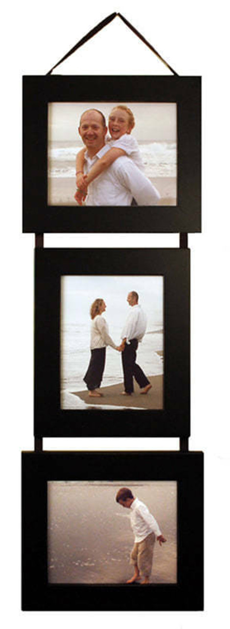 Collage Picture Frames Multi Frame Set 3 5x7 Frames On Ribbon