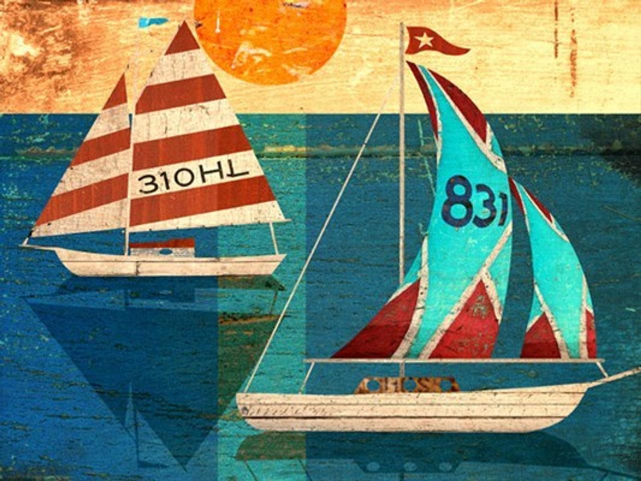 Vintage Sailing Sign Sailing Wall Decor