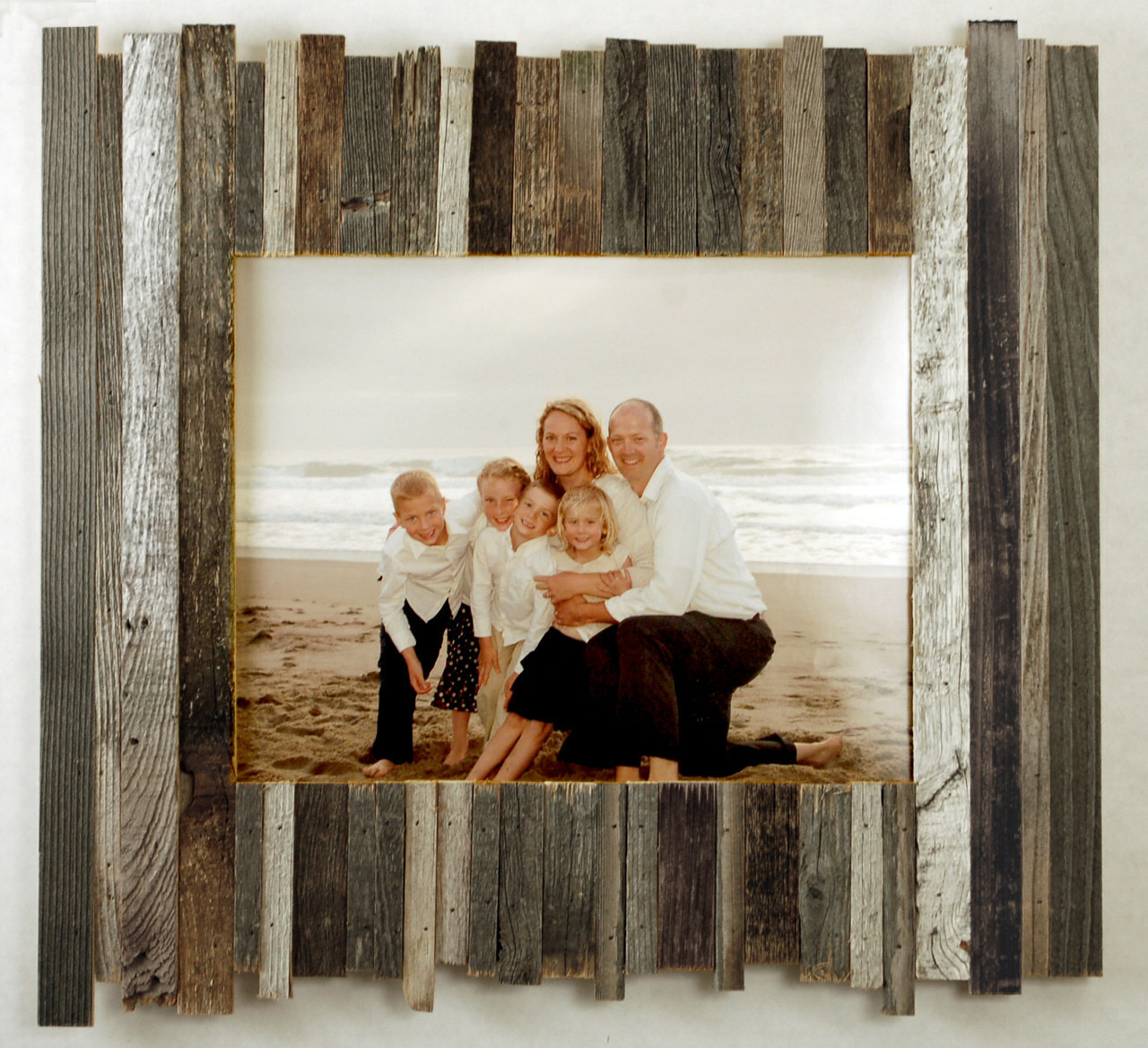 Beachcomber Reclaimed Wood Frame 8x10