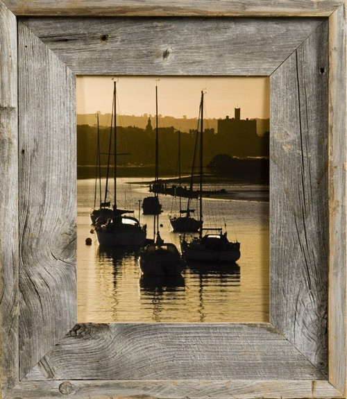 Barnwood Frame 24x30 Reclaimed Wood Picture Frame