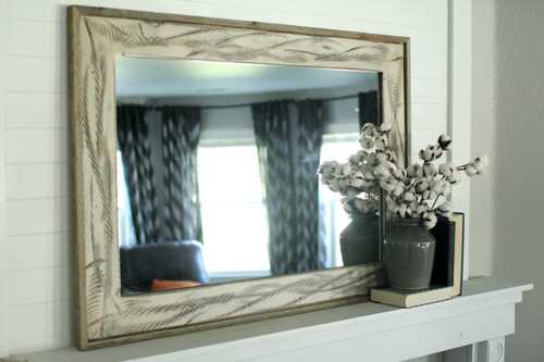rustic wood mirror diy rustic mirror denali antique white heavily distressed wood mirrors reclaimed wood iron