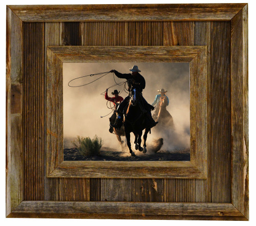 Barnwood Frames Rustic Reclaimed Wood Picture Frames Custom Sizes