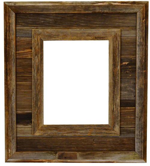 Barnwood Frame Durango 16x20 Reclaimed Wood Frame