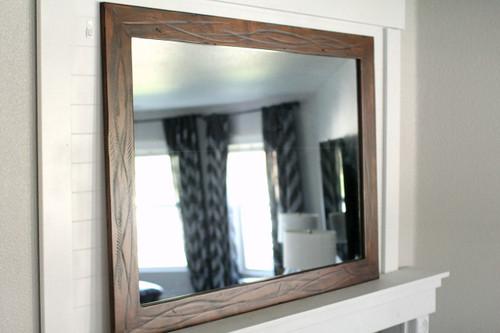 rustic wood mirror bathroom rustic heavily distressed wood mirror sedona mirrors reclaimed wood iron