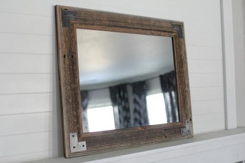 rustic wood mirror full length rustic bathroom mirror modern farmhouse ranch hand mirrors reclaimed wood distressed iron