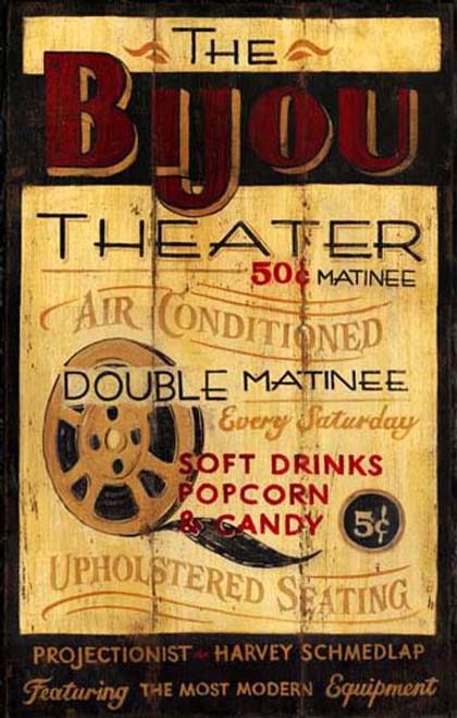 Home Decor - Custom Vintage Signs - Theater, Arcade ...