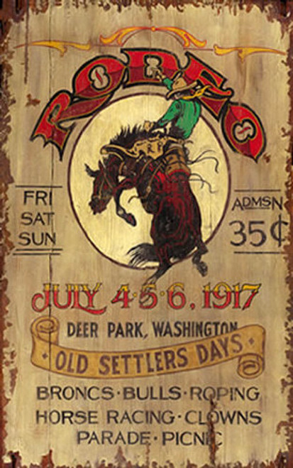 8bfbf97ee4a Rustic Western Signs - Rodeo - Vintage Cowboy Signs