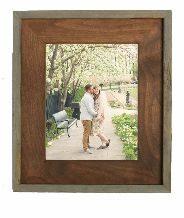 8395892191d Wasatch Rustic Barnwood Frame
