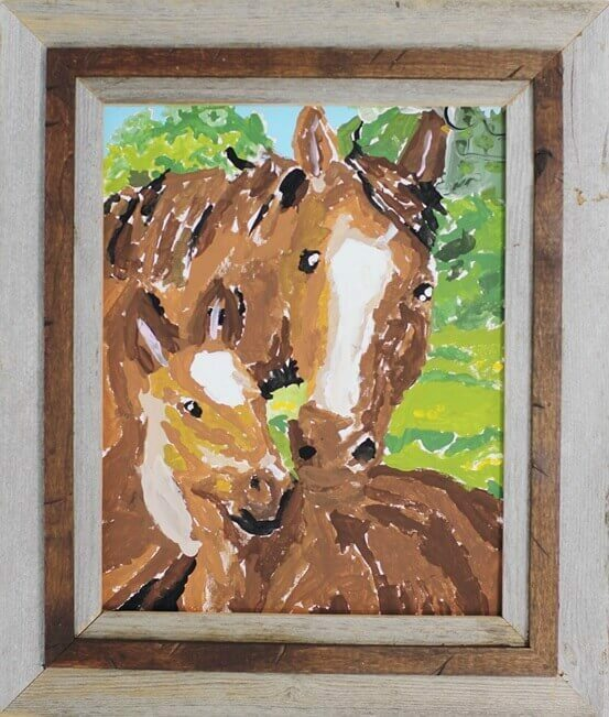 Hobble Creek Barnwood Frame
