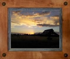 Sagebrush Rustic Frames -  Alder with Tacks