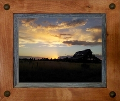 Sagebrush Rustic Frames -  Alder with Tacks
