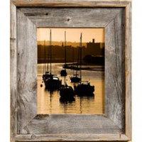 "Lighthouse 2.75"" Medium Barnwood Picture Frame"