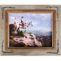 Hobble Creek Frame with Barbed Wire