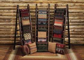 Wool Blend Throw Blankets