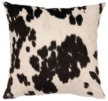 Faux Cowhide Pillows and Throws