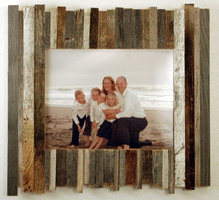 Beachcomber Reclaimed Wood Picture Frame