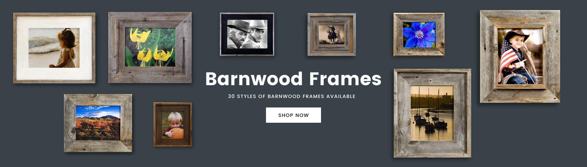 1284b5ffd5cc Rustic Barnwood Frames