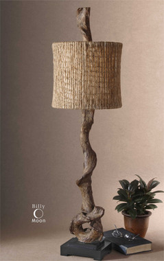 Rustic Lighting Driftwood Table Lamp