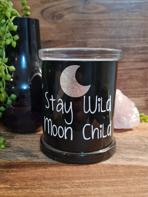 MOON CHILD Crystal Infused Soy Candle
