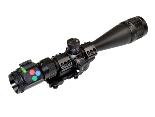 Presma® EX Series Professional 4-16X40 Precision Scope AO, RGB RXR Reticle