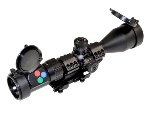 Presma® EX Series Professional 3-12X44 Precision Scope, RGB RXR Reticle