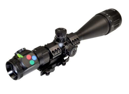 Presma® EX Series Professional 6-24X50 Precision Scope AO, RGB RXR Reticle
