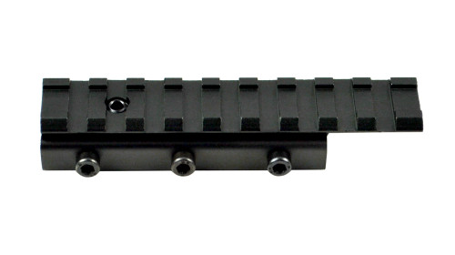 9 Slot Dovetail .22 to Picatinny Scope Mount Adapter