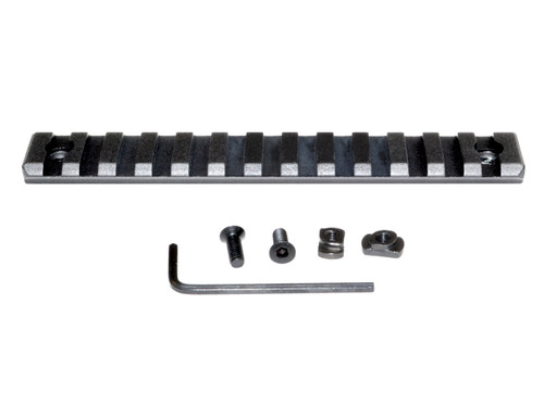 Picatinny Rail Section for M-LOK Style Mounts, 13 Slot