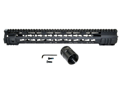 Presma® AR-15 Jackal Series Super Slim Free Float Handguards, 16.5""