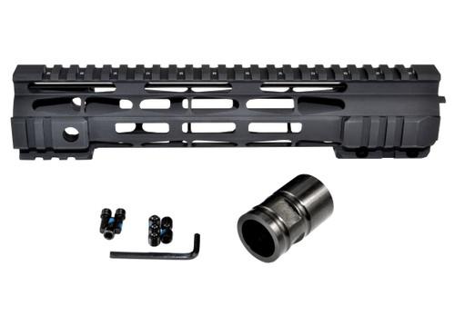 "Presma® DPMS .308 M-LOK Series Slim Free Float Handguards, 10"" High Profile."