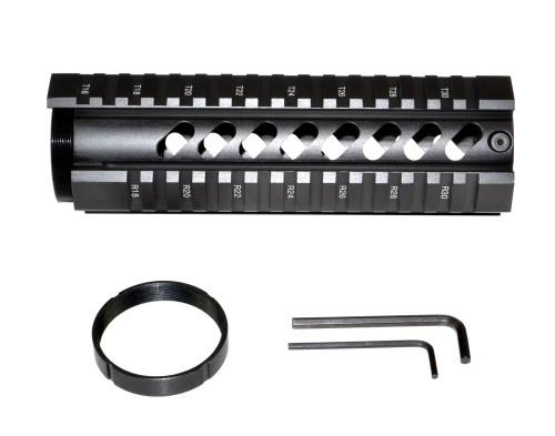 """Sniper® 7"""" AR-15 Quad Rail Free Float Handguard"""