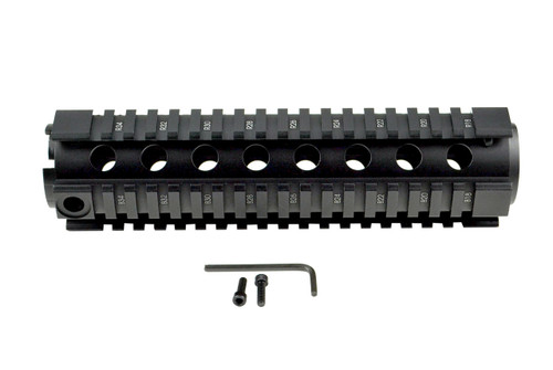 "AR-15 8.7"" Mid-Length 2pc Drop-In Handguard, for TRIANGLE End Cap"