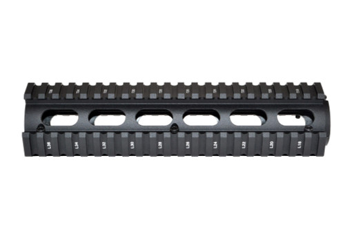 "AR-15 8.7"" Mid-Length 2pc Drop-In Handguard, for ROUND End Cap"