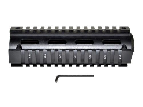"Sniper® 2 Piece Drop In Quad Rail Handguard DPMS .308, 6.75"" Carbine Length"