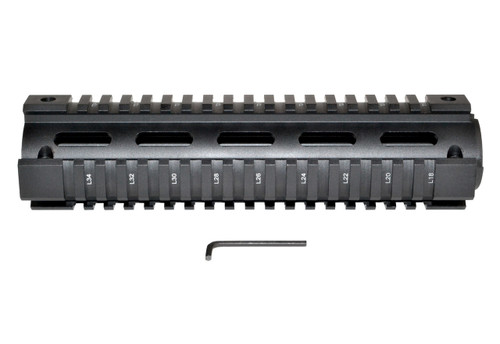 "Sniper® AR .308 2pc Mid-Length 8.75"" for DMPS LR .308 Low Profile, Fits Round End Cap"