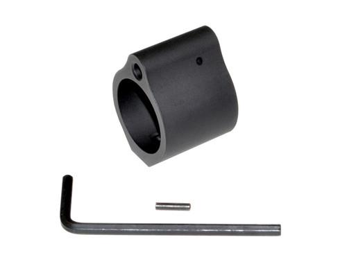 "AR Low Profile Gas Block, 0.936"", Black Steel"