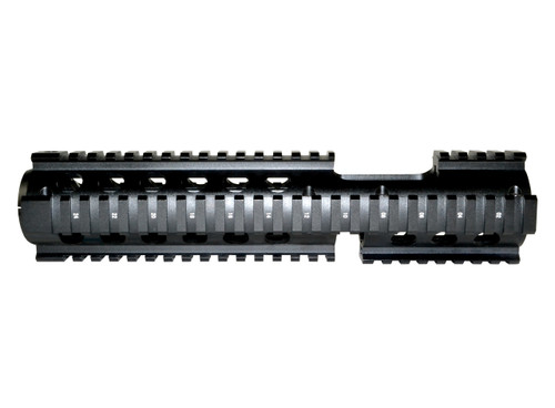 "AR-15 10"" Carbine 3pc Drop-In Handguard, FSP Cut-Out, Extended Rails, for ROUND End Cap"