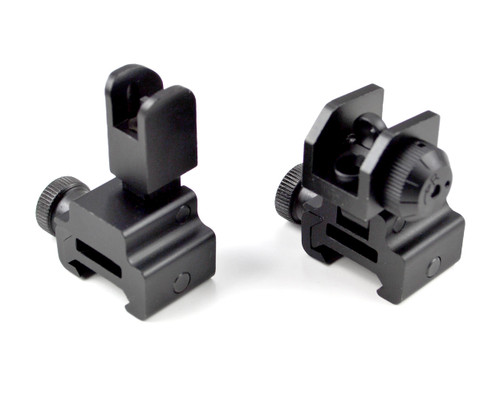 High Profile A2 Front Sight with Rear Dual Apertures - Flip-Up/Push Down