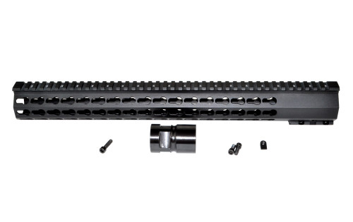 "16.5"" Presma® Jackal Series Super Slim Free Float Full KeyMod Handguards, 16.5 inch"