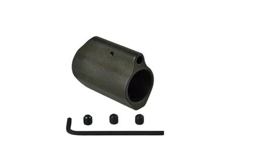 """AR-15 Low Profile Gas Block, 0.750"""" Steel Long Style"""