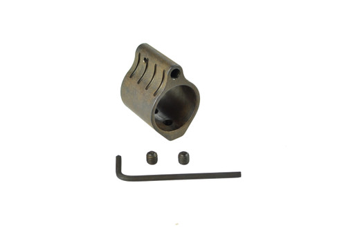 """AR Low Profile Gas Block, 0.875"""" Steel"""